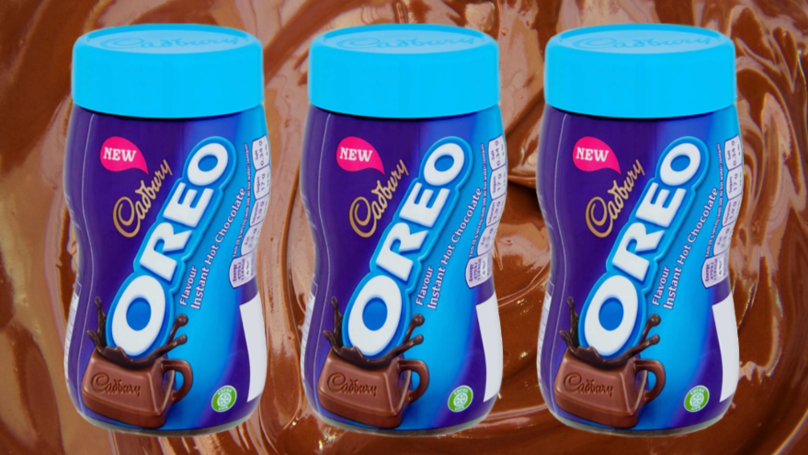 Cadbury Has Released Oreo Hot Chocolate And It's Dreamy