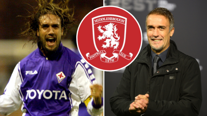 Gabriel Batistuta Interested In Becoming Next Middlesbrough Manager