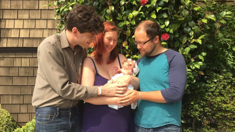 Asexual Man Is Living With A Couple And 'Co-Parenting' Their Baby