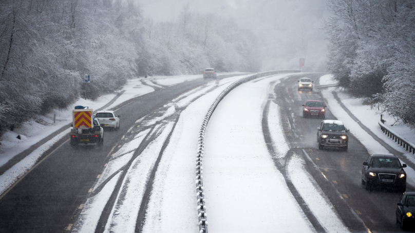 Storm Hannah Expected To Bring Up To Eight Inches Of Snow This Weekend