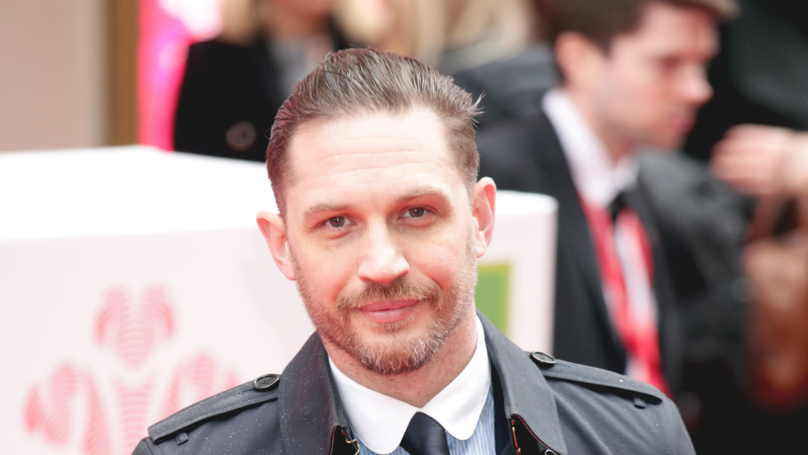 Tom Hardy Shares Hilarious Pic Of His Early Acting Days