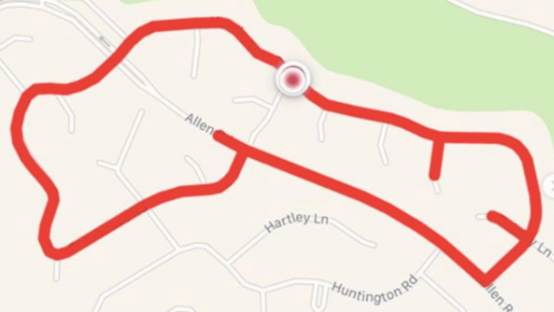 'D**k Run Claire' Logs Penis Shaped Running Routes And Shares Them Online