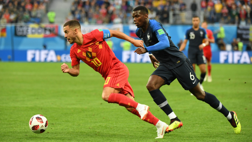 France Are Through To The Final Of The World Cup After Beating Belgium 1-0