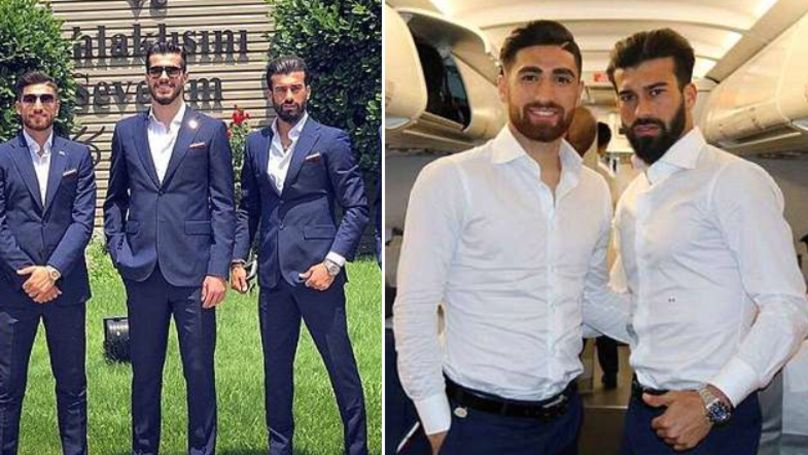 Everyone's Losing Their Sh*t Over Iran's Dapper World Cup Squad
