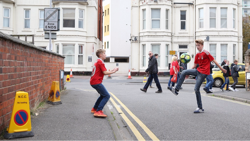 ​Gloucester Residents Told To Report Kids Playing Football In Street To Police