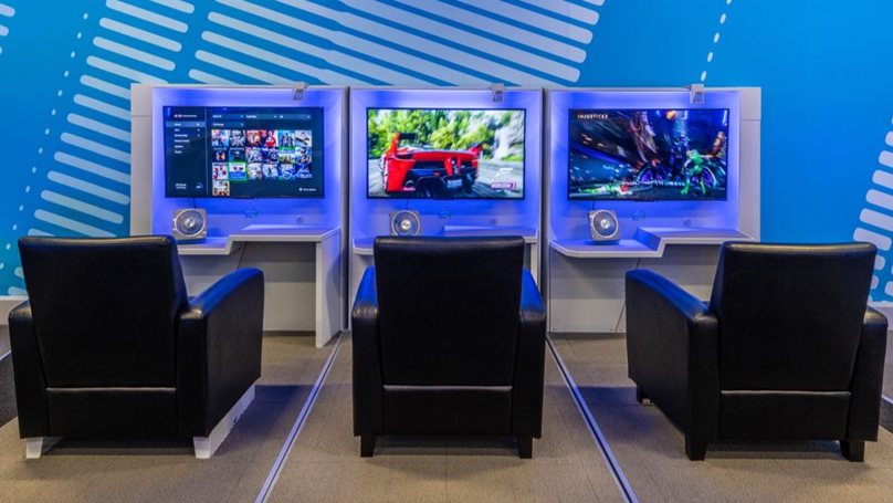 ​Travellers Can Now Enjoy Video Game Lounges In Airport Terminals