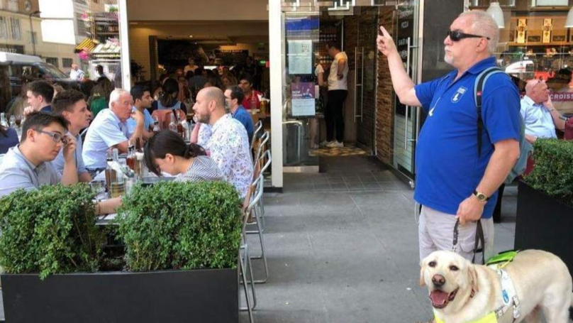 Blind Man And Guide Dog Left 'Humiliated' When Restaurant Refused To Serve Him