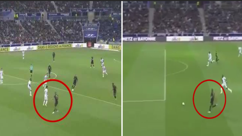WATCH: 11 Second Clip Of Kylian Mbappe's Incredible Movement vs Lyon Goes Viral