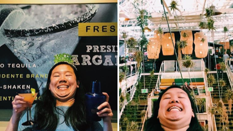 Forget Selfies, This Woman Is All About The Chinfie And It's Brilliant