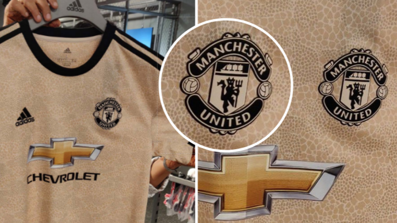Manchester United's Leaked Away Kit For 2019/20 Is Really Bizarre