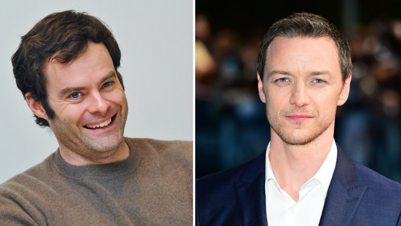 James McAvoy And Bill Hader Could Star In The 'It' Sequel