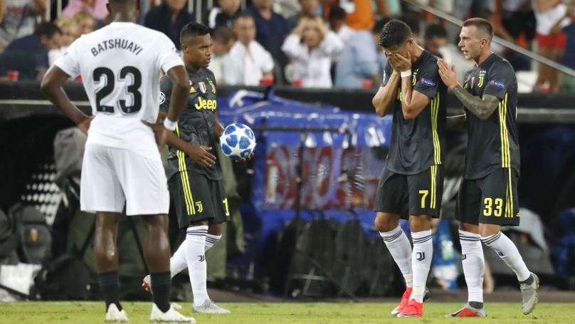 Cristiano Ronaldo Sent Off In First Champions League Game For Juventus