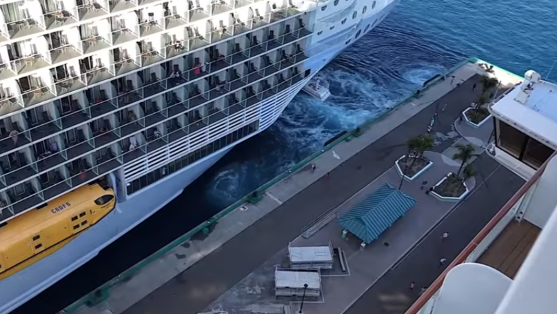 Couple Watch On As Cruise Ship Leaves Them Stranded In The Bahamas