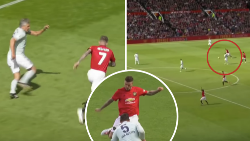 David Beckham's Individual Highlights vs Bayern Prove He's Still Got It, Aged 44