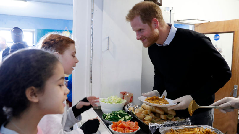 Prince Harry Proves He's Going To Be The Best Dad During School Visit