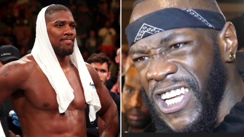 Heavyweight Champion Deontay Wilder Launches Brutal Rant On Anthony Joshua