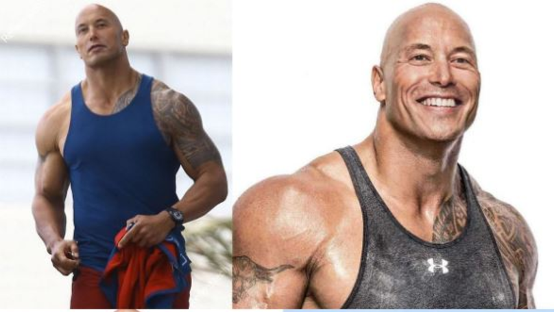 Dwayne Johnson Responds After Elon Musk Posts Pictures Of Himself With The Rock's Body