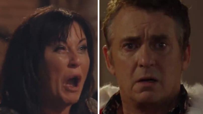 'EastEnders' Christmas Trailer Hints Kat Moon Could Murder Husband Alfie