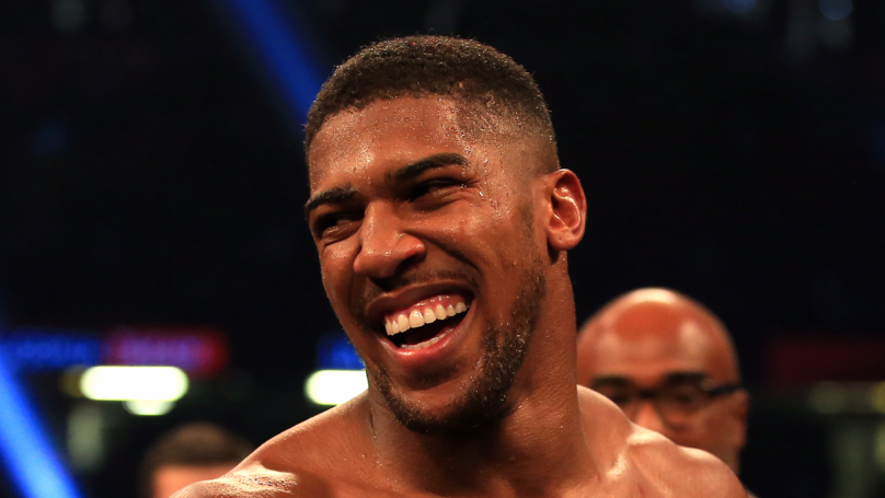 Anthony Joshua Goes In On Tyson Fury On Twitter