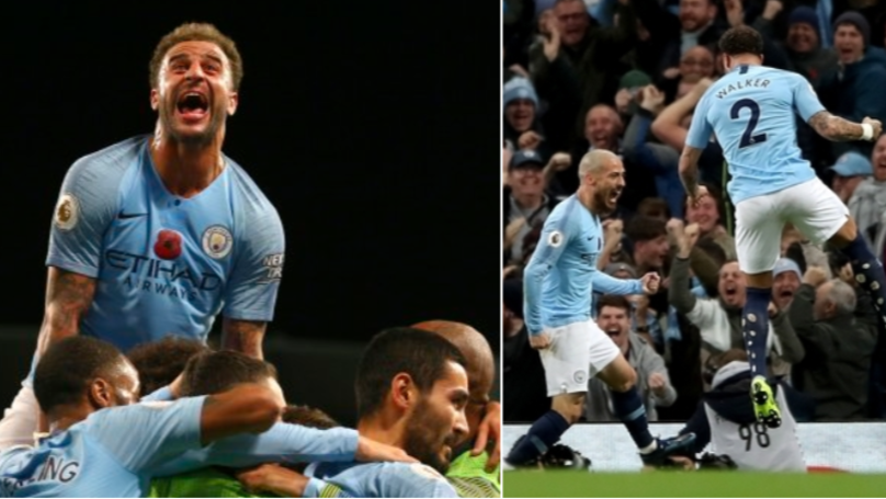 Kyle Walker Reacts To City Beating United By Posting Poem On Twitter, Immediately Deletes