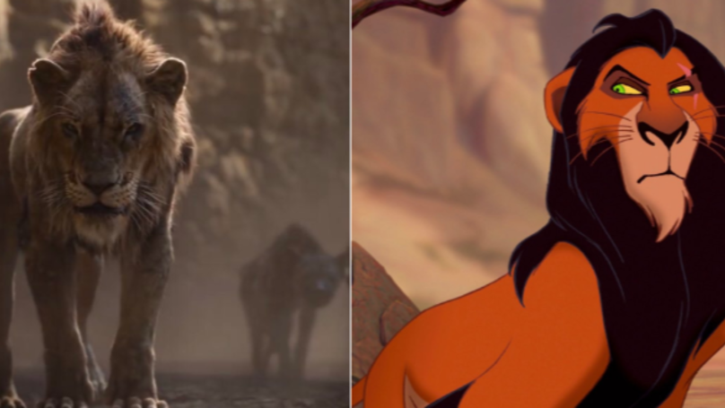 Scar Looks Different In The New Lion King Film And People Are Not Happy