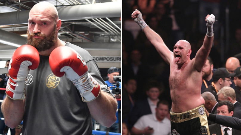 Tyson Fury Wins Comeback And Fight Of The Year Awards