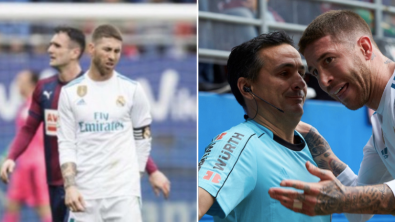 Sergio Ramos Literally Sh*ts Himself, Goes To Bathroom, Comes Back To Finish Game