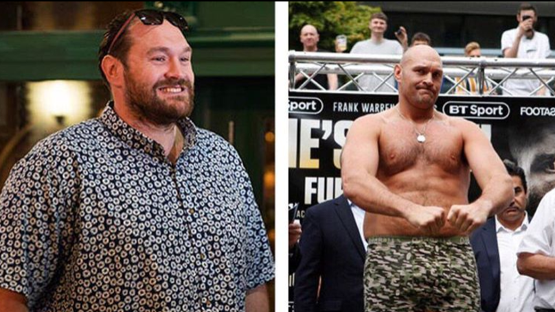 Tyson Fury's Body Transformation Ahead Of Return Is Truly Incredible
