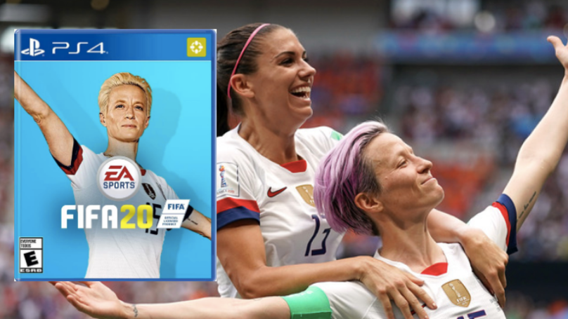 There's A Petition To Get Megan Rapinoe On The FIFA 20 Front Cover