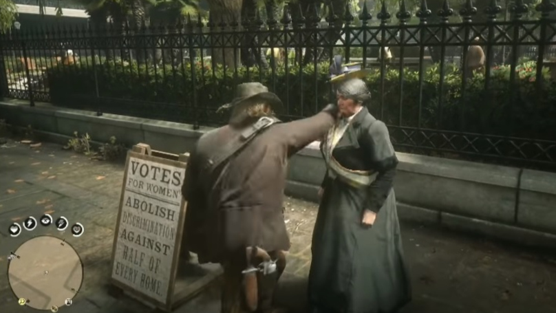 ​YouTube Deletes, Bans, Then Restores Videos & Accounts Showing Red Dead Redemption 2 Suffragette Murder