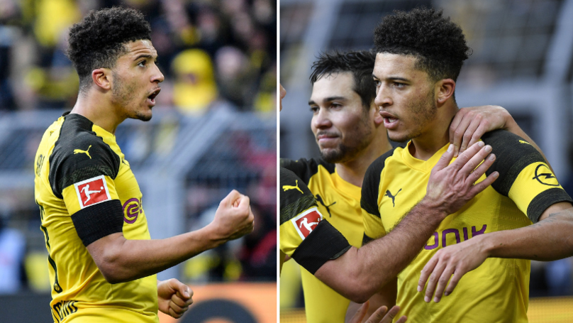Jadon Sancho Gave His Best Performance For Borussia Dortmund So Far