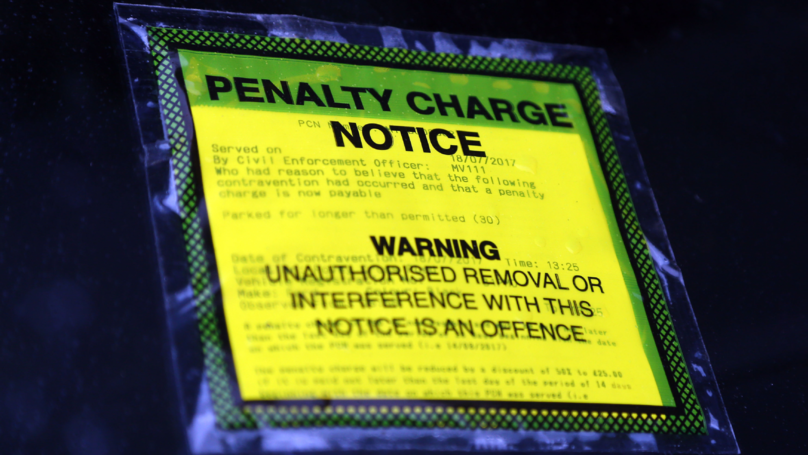 Foreign Car Picks Up £8,000 In Parking Fines Across 119 Tickets