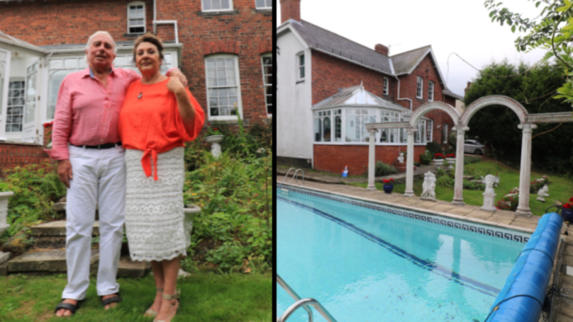 Couple Are Raffling Off Their Huge Home Complete With A Pool For Just £10
