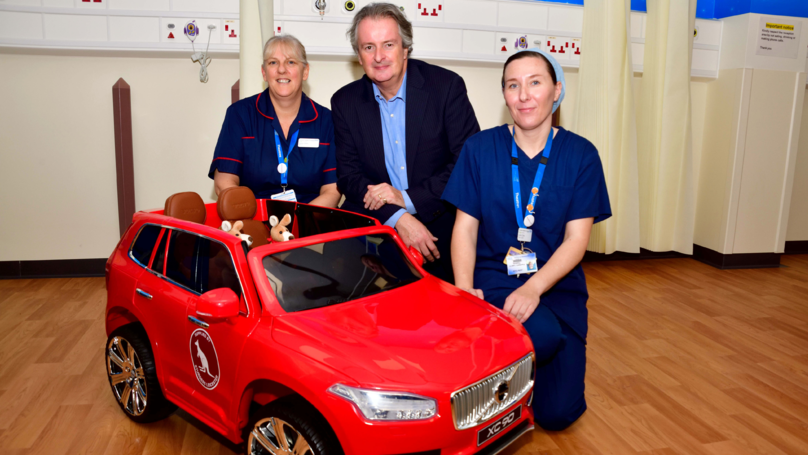 Little Kids Given Cars So They Can Drive Themselves To Surgery