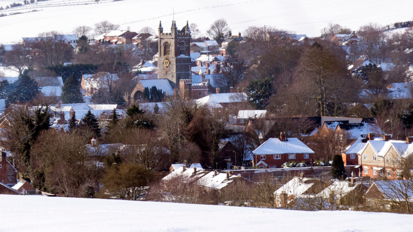 The Met Office Issues A Warning For Eight Inches Of Snow This Weekend