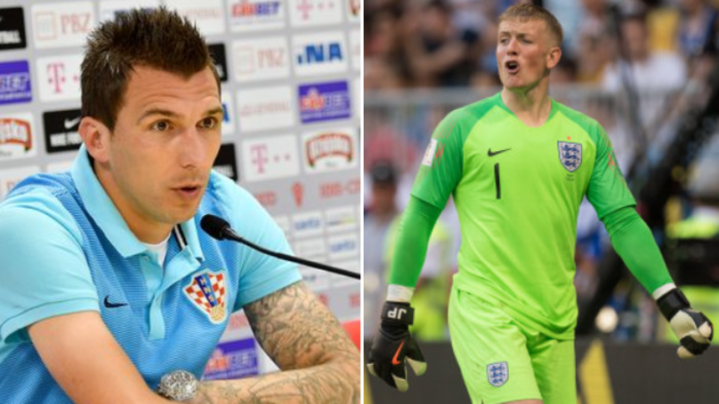 Mario Mandzukic Sends Message To Jordan Pickford Ahead Of World Cup Semi-Final