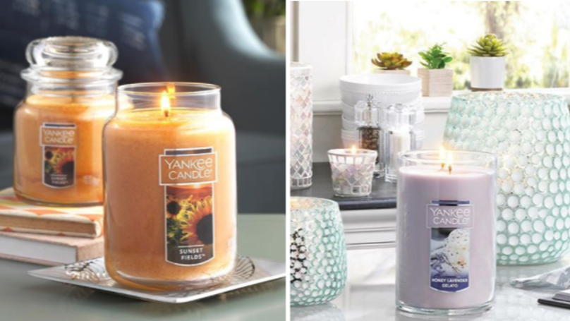 Yankee Candles Are Currently Half Price At Clintons