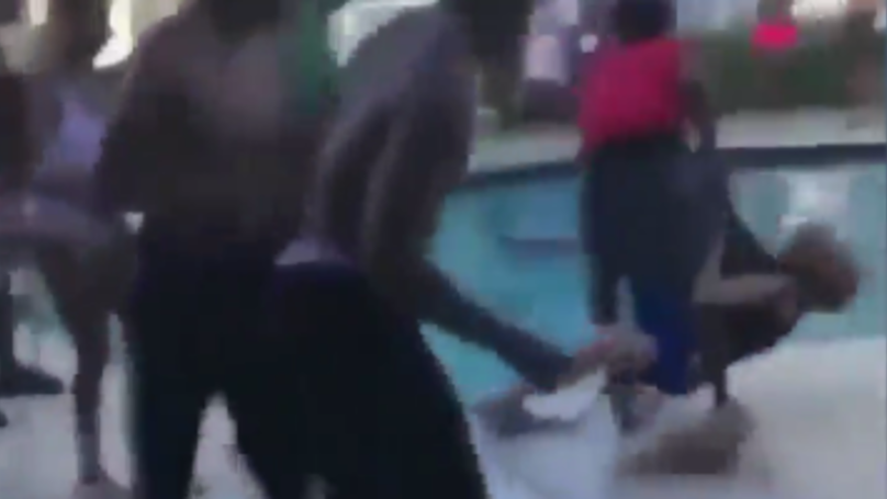 Teen Charged For 'Bodyslamming' And Throwing 68-Year-Old Woman In Pool