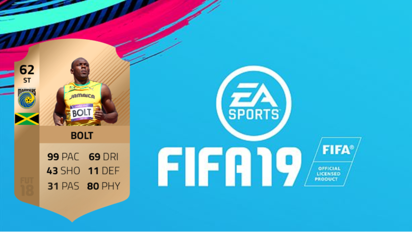 Usain Bolt's Predicted FIFA 19 Card Will Be The Most Overpowered Card In History