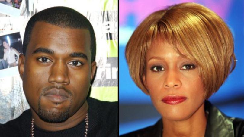 Kanye West Paid $85K To Use Photo Of Whitney's Houston's Bathroom On Album Art