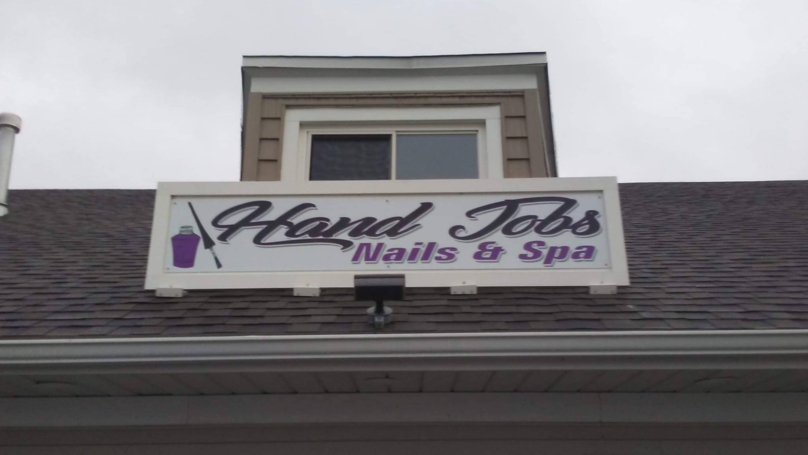 'Hand Jobs' Nail Salon Is Fighting Back Against Authorities Who Want Sign Removed