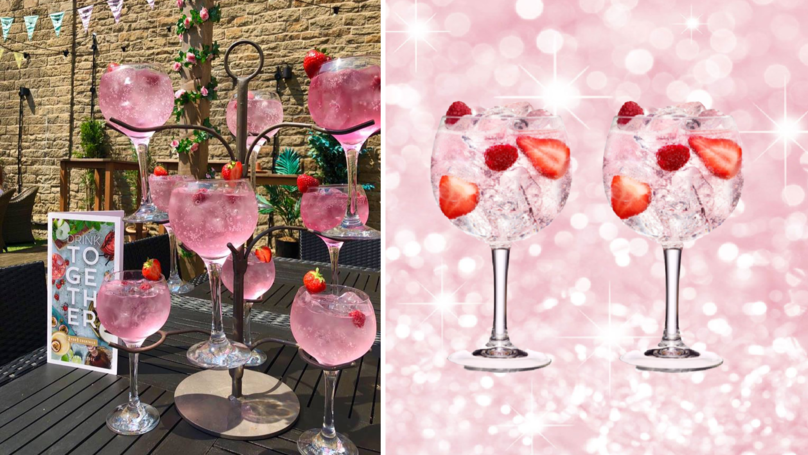 Slug And Lettuce Is Launching Pink Gin Trees Perfect For Summer