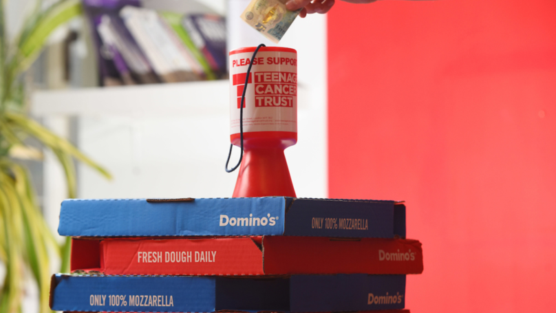 Domino's Dough-Nates Over £2m To Teenage Cancer Trust