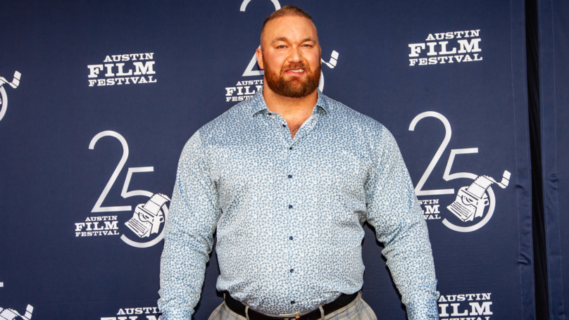The Mountain Named Europe's Strongest Man For Fifth Time