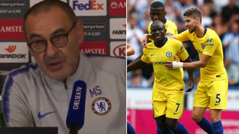 Why Maurizio Sarri Won't Play N'Golo Kante In Jorginho's Role For Chelsea