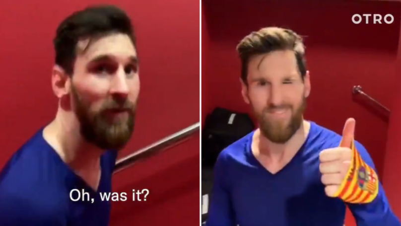 Lionel Messi's Humble Response To Scoring His 50th Career Hat-Trick Is Very Unselfish