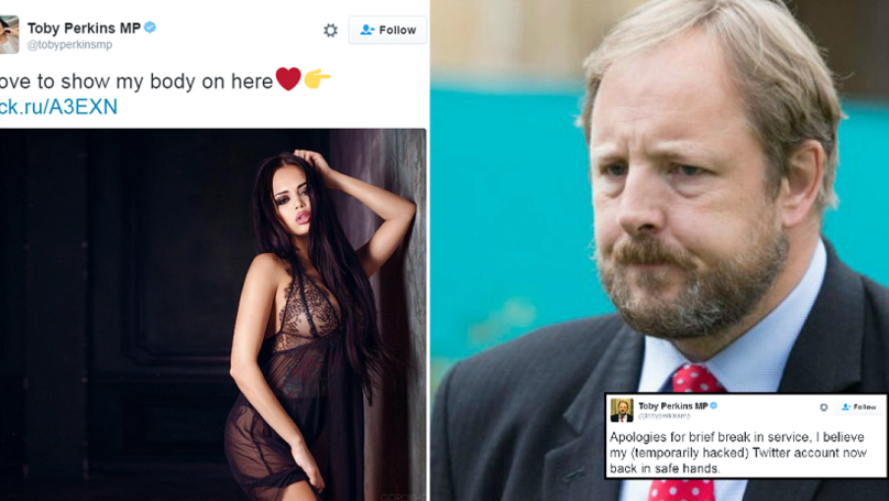 Labour MPs Twitter Gets Hacked And Turns Him Into Half