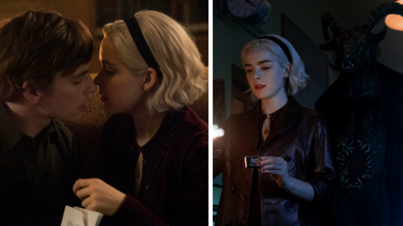 Check Out These First-Look Pictures Of 'Chilling Adventures Of Sabrina' Part Two