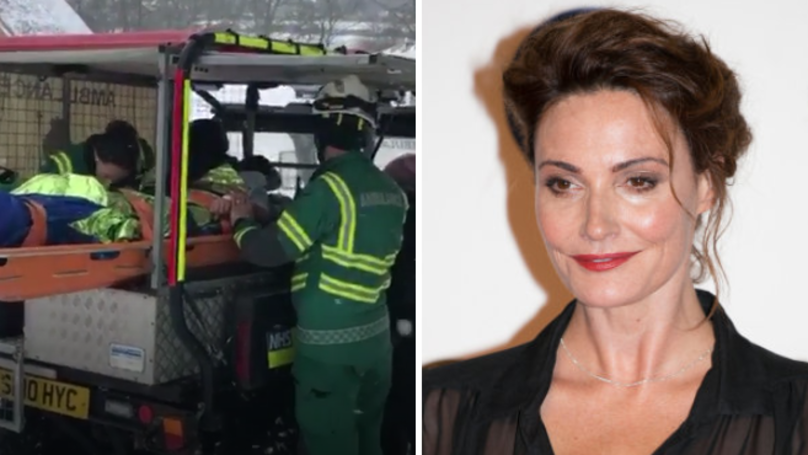 Broadchurch Actress Sarah Parish Rushed To Hospital After Shattering Leg In Sledging Accident