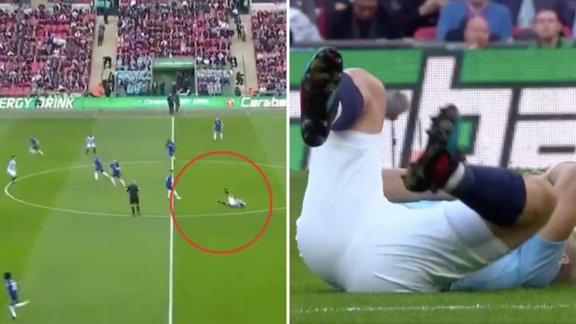 Jorginho With The Quickest Foul On Sergio Agüero In Wembley History